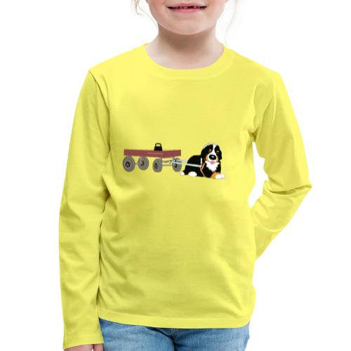 bernerdrag hona - Långärmad premium-T-shirt barn