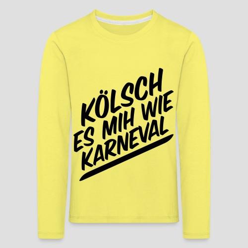 daeHoot Karneval - Kinder Premium Langarmshirt
