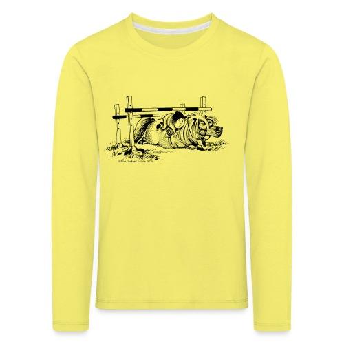 PonyFall Thelwell Cartoon - Kids' Premium Longsleeve Shirt