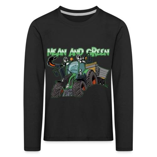 F 718Vario mean and green - Kinderen Premium shirt met lange mouwen