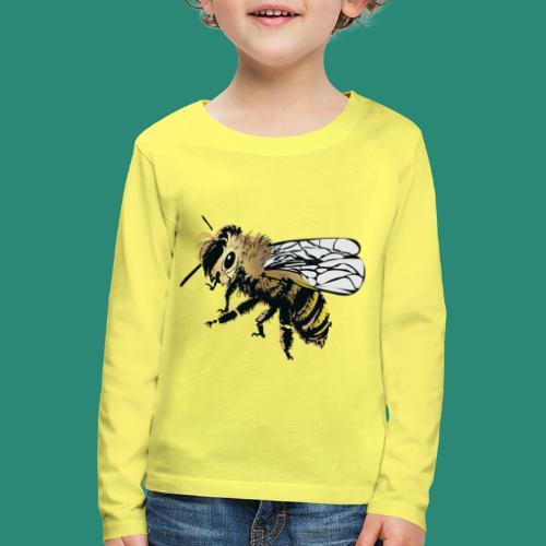 Wespe - Kinder Premium Langarmshirt