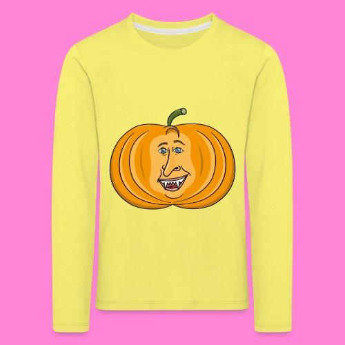 Rick pumpkin - Kinderen Premium shirt met lange mouwen