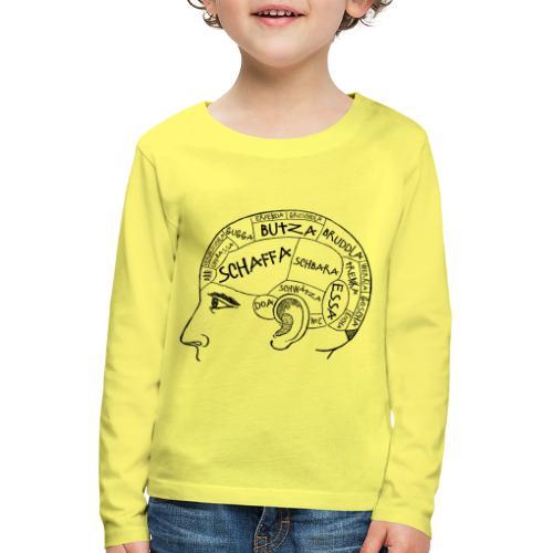 Kopfsache - Kinder Premium Langarmshirt