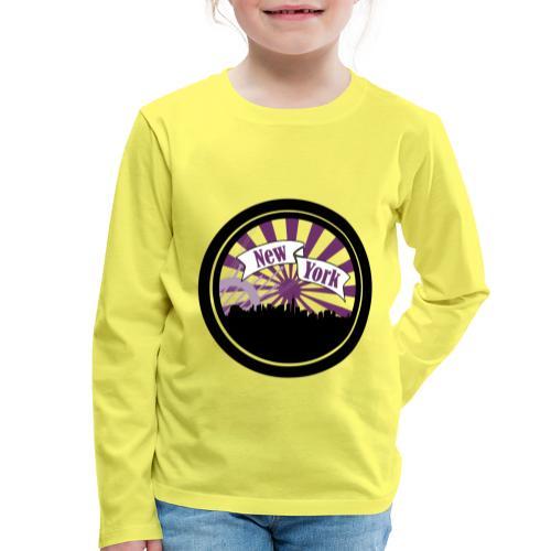 New York City - T-shirt manches longues Premium Enfant