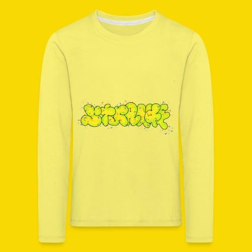 Strange Graffiti - Koszulka dziecięca Premium z długim rękawem