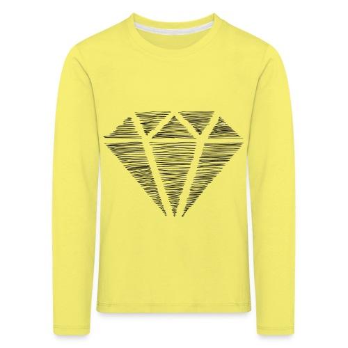 Diamante - Camiseta de manga larga premium niño