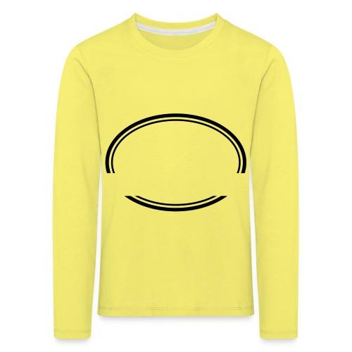 Kreis offen - Kinder Premium Langarmshirt
