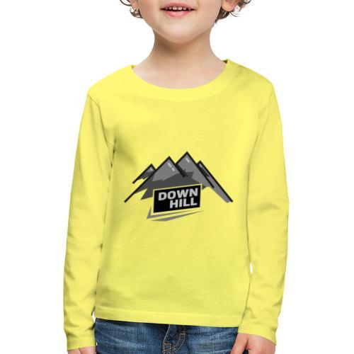 Downhill - Kinder Premium Langarmshirt