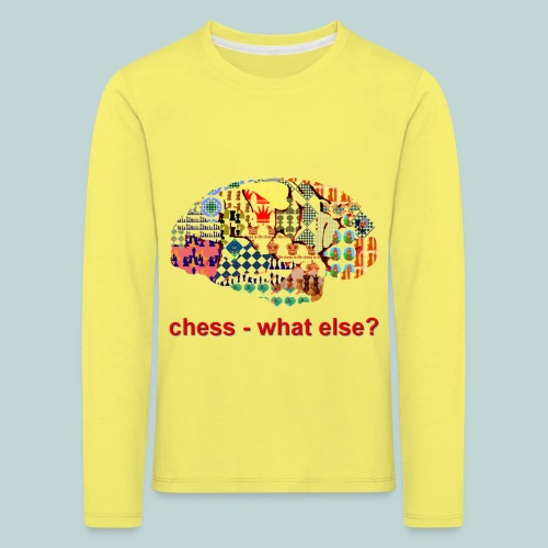 chess_what_else - Kinder Premium Langarmshirt