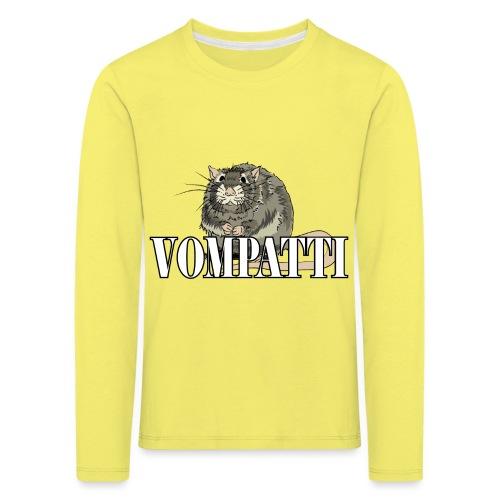 Vompatti - Lasten premium pitkähihainen t-paita