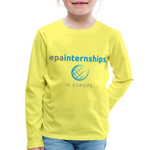 EPA Shirt Grey - Kids' Premium Longsleeve Shirt
