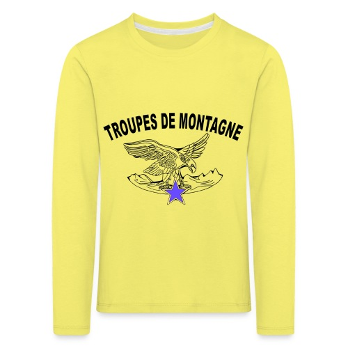 choucasTDM dos - T-shirt manches longues Premium Enfant
