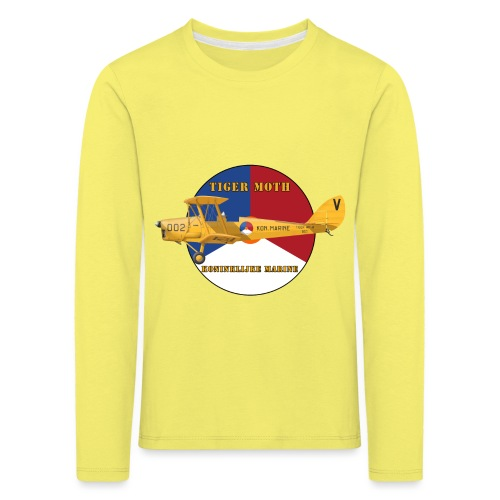Tiger Moth Kon Marine - T-shirt manches longues Premium Enfant