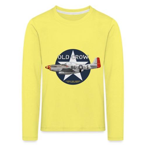 P-51 Old Crow - T-shirt manches longues Premium Enfant