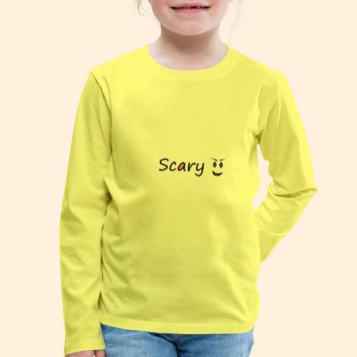scary - Kids' Premium Longsleeve Shirt