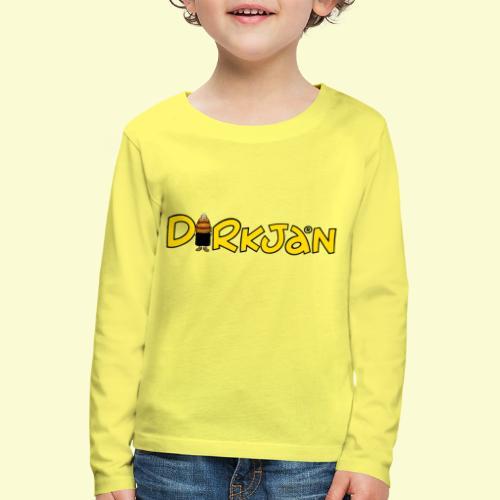 DIRKJAN Logo - Kinderen Premium shirt met lange mouwen