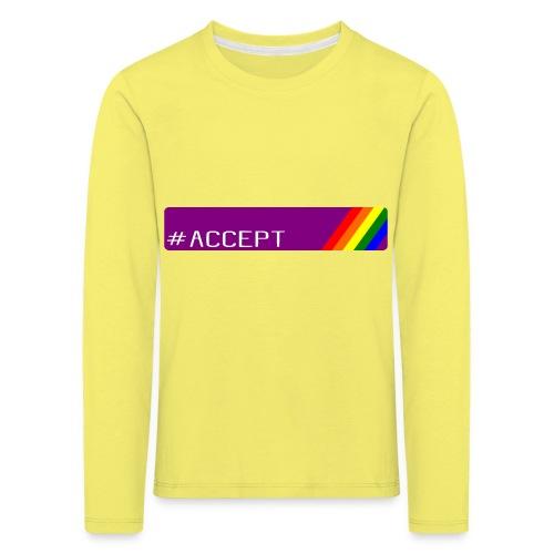 79 accept - Kinder Premium Langarmshirt