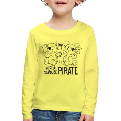 MIEZEMOUSE PIRATE - Kinder Premium Langarmshirt