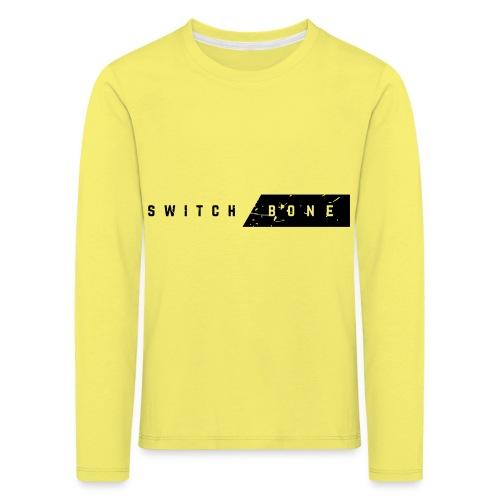 Switchbone_black - Kinderen Premium shirt met lange mouwen