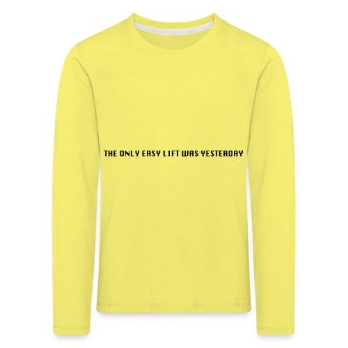 170106 LMY t shirt hinten png - Kinder Premium Langarmshirt