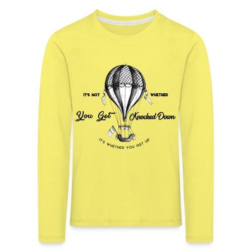balon - Koszulka dziecięca Premium z długim rękawem