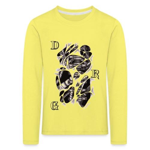 DRAGSTER WEAR - Maglietta Premium a manica lunga per bambini