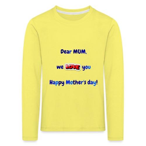 Maman - T-shirt manches longues Premium Enfant