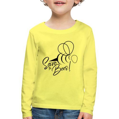 Save the Bees - Rettet die Bienen! Geschenkidee - Kinder Premium Langarmshirt