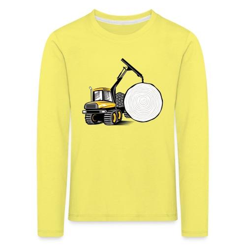 Kuormatraktori t paidat, hupparit, lahjatuotteet - Lasten premium pitkähihainen t-paita