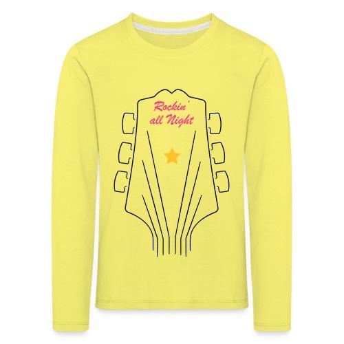 RockingAllNight - Maglietta Premium a manica lunga per bambini
