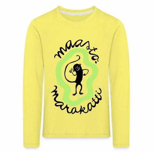 Maastomarakatti - Lasten premium pitkähihainen t-paita