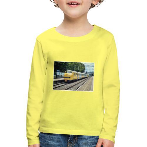 Museumtrein in Breda Prinsenbeek. - Kinderen Premium shirt met lange mouwen