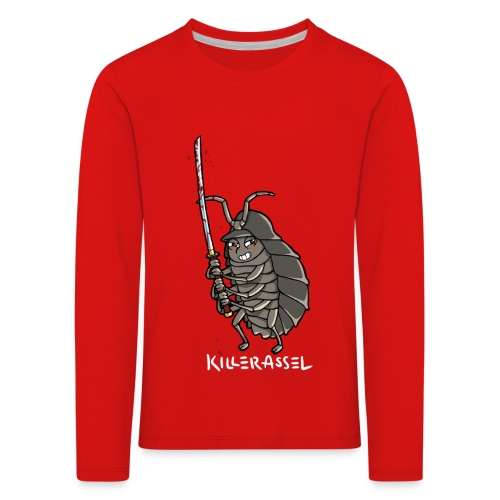 killerassel-white - Kinder Premium Langarmshirt