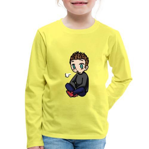chibi M@tis - Koszulka dziecięca Premium z długim rękawem
