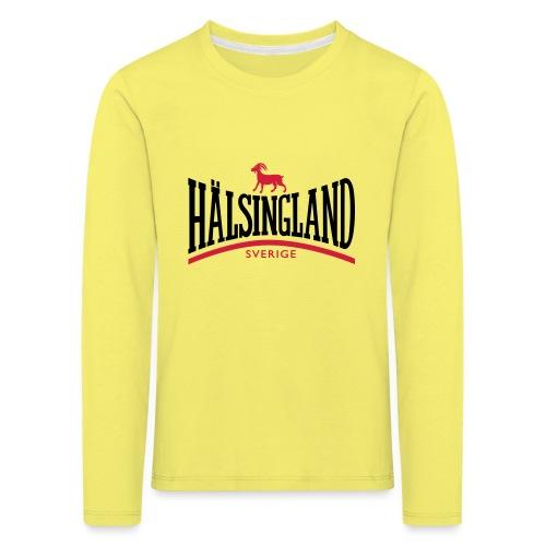 HÄLSINGLAND - Långärmad premium-T-shirt barn