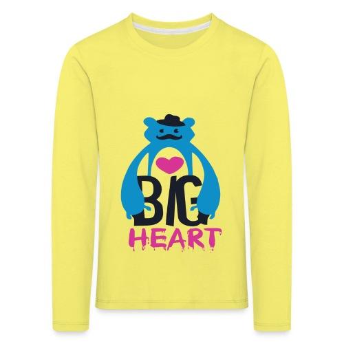 Big Heart Monster Hugs - Kids' Premium Longsleeve Shirt