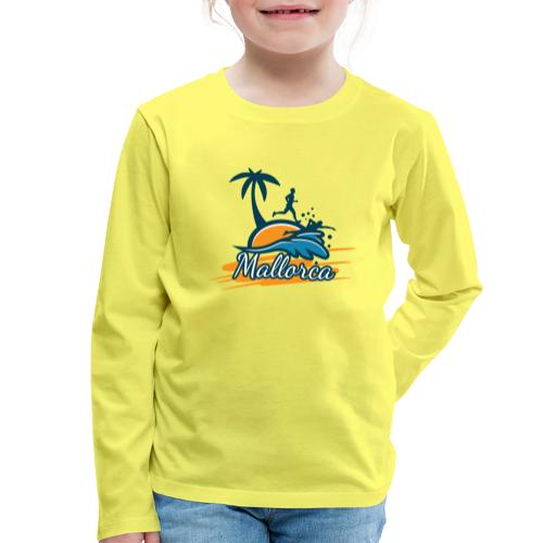 Joggen auf Mallorca - Sport - sportlich - Jogging - Kinder Premium Langarmshirt