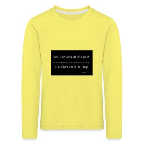 past - Kinderen Premium shirt met lange mouwen