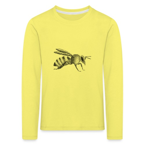 Biene - Kinder Premium Langarmshirt