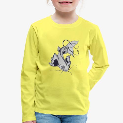 Poisson - T-shirt manches longues Premium Enfant