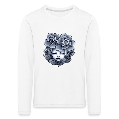 Flower Head - T-shirt manches longues Premium Enfant
