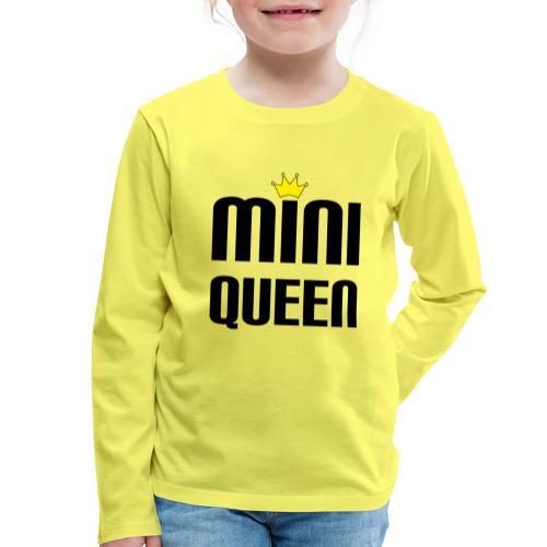Queen Baby Geschenk - Kinder Premium Langarmshirt