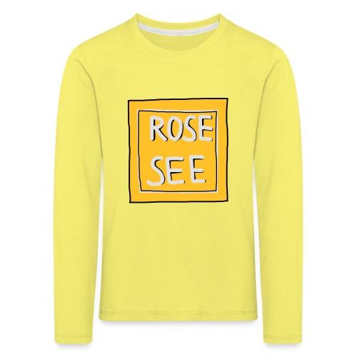Logo voor druk op textiel - Kinderen Premium shirt met lange mouwen