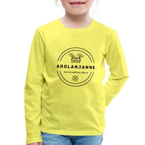 Janne Arola - kuva edessä - Lasten premium pitkähihainen t-paita