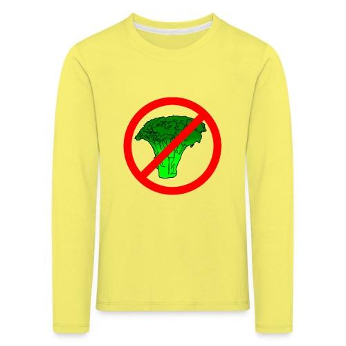 no broccoli allowed - Kids' Premium Longsleeve Shirt