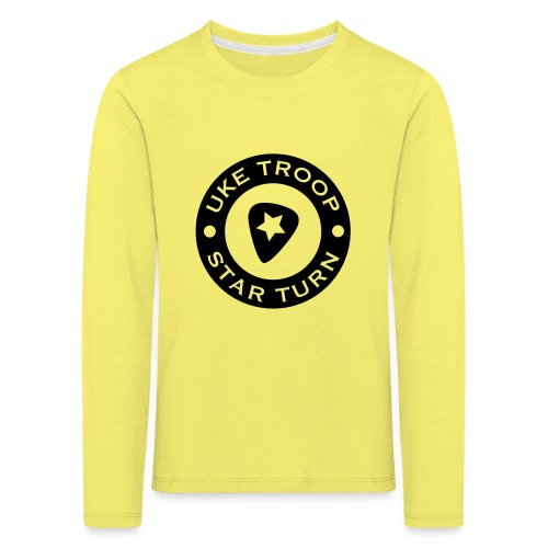 uke troop small - Kids' Premium Longsleeve Shirt