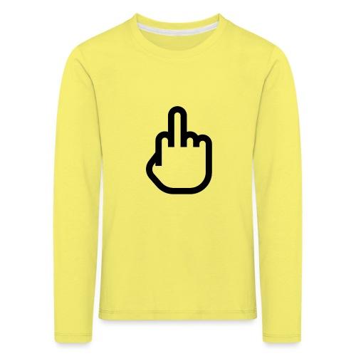 F - OFF - Kinderen Premium shirt met lange mouwen