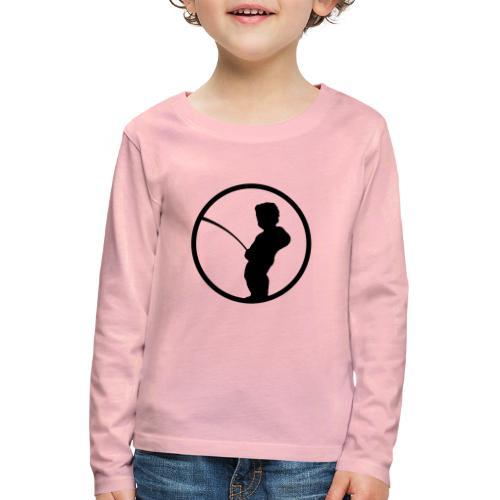 Manneke Pis - T-shirt manches longues Premium Enfant