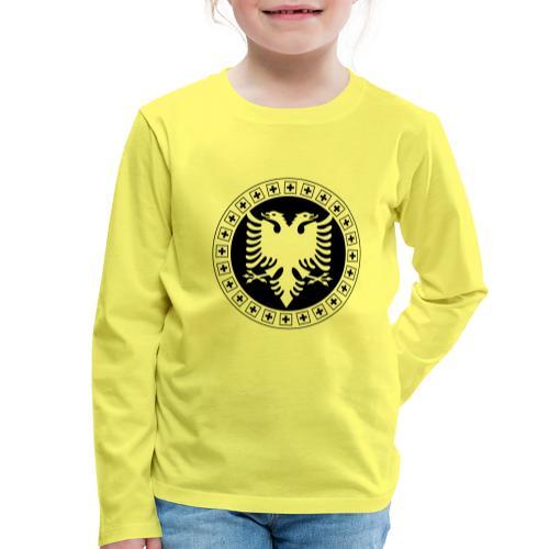 Albanien Schweiz Shirt - Kinder Premium Langarmshirt