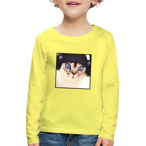 DJCHAT COLOR - T-shirt manches longues Premium Enfant